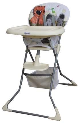 Стульчик для кормления Bambola Compatto Тигренок, кремовый