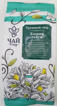 Чайный травяной Чай в Саду напиток хозяин тайги 70 г