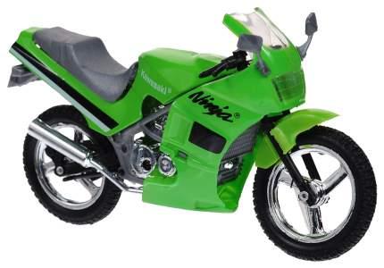 Коллекционная модель мотоцикла MotorMax Kawasaki NINJA 600R/76205 на платформе 1:18