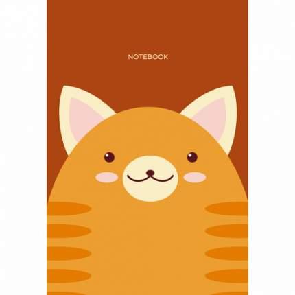 """Блокнот """"Кот, Дизайн 4"""" А6, 40 листов, в клетку"""