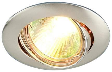 Встраиваемый точечный светильник Elektrostandard 104S MR16 SS Сатин Серебро a031467