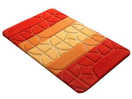 Коврик для ванной РР MIX 4K оранжевый, SHAHINTEX