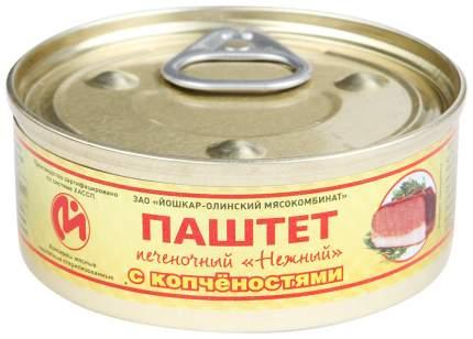 Консервы мясные ЙОМ паштет печеночный с копченостями №1 с ключом 100 г