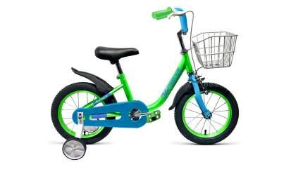 Велосипед детский двухколесный Forward BARRIO 16 2018-2019 зеленый RBKW9L6G1015