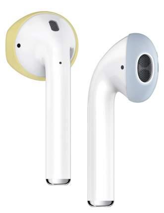 Держатель Elago Secure Fit (EAP-PADSM-YEPBL) для Apple AirPods (Yellow/Pastel Blue)