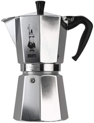 Кофеварка гейзерная Bialetti Moka Express 1166 Серебристый