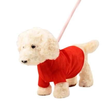 Мягкая игрушка Пушистые друзья Собачка интерактивная на жестком поводке JB500008