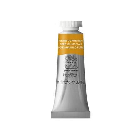 Акварель Winsor&Newton Professional охра желтая светлая 14 мл