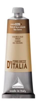 Масляная краска Maimeri Classico Terre d'Italia 035 земля сиена натуральная 60мл