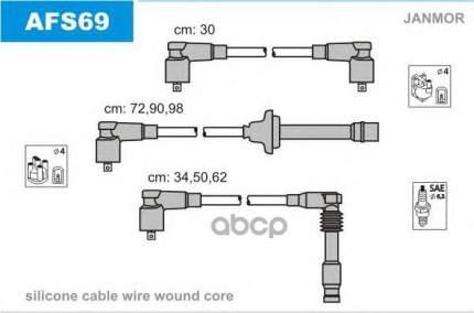 Комплект проводов зажигания JANMOR AFS69