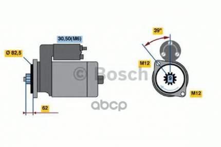 стартер Bosch 0986022460
