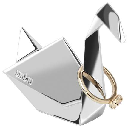 Подставка для колец Umbra Origami Лебедь Хром
