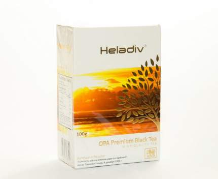 Чай черный Heladiv GC OPA super big leaf 100 г