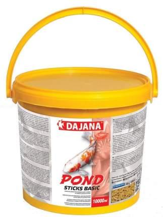 Корм для прудовых рыб Dajana Pond Sticks Basic, палочки, 10 л