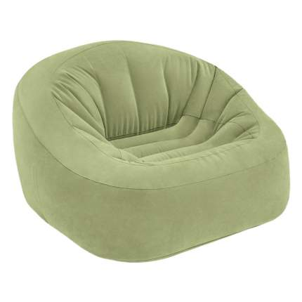 Надувное кресло intex beanless bag club chair, 124х119х76 см, арт, 68576, Интекс