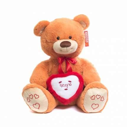 Мягкая игрушка Мишка большой с сердцем, с вышивкой 85 см Нижегородская игрушка См-405-5