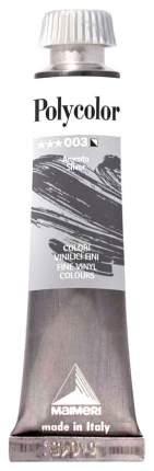 Акриловая краска Maimeri Polycolor 003 серебро 20 мл