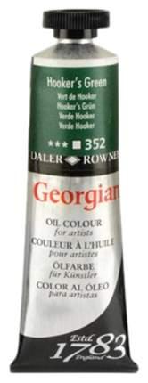 Масляная краска Daler Rowney Georgian зеленый хукера 38 мл