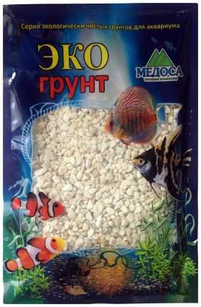 Грунт для аквариума ЭКОгрунт Мраморная крошка Белая 2 - 5 мм 1 кг