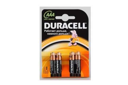 Батарейка Duracell Basic ААА 4 шт