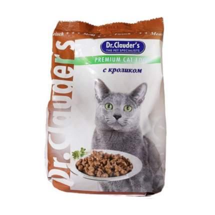 Сухой корм для кошек Dr.Clauder's Premium Cat Food, кролик, 0,4кг
