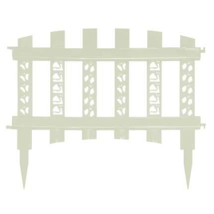 """Забор декор""""Палисадник""""белый"""