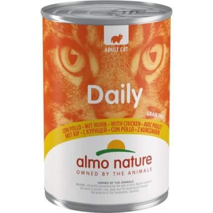 Консервы для кошек Almo Nature Daily курица, 400г