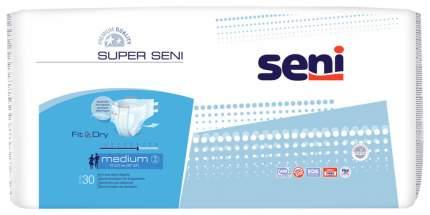 Подгузники для взрослых Super Seni Air размер M 30 шт. 75-110 см