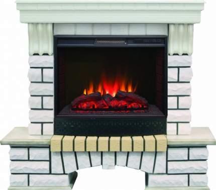 Камин под телевизор Real-Flame Country 25 WT с очагом Sparta 25,5 LED