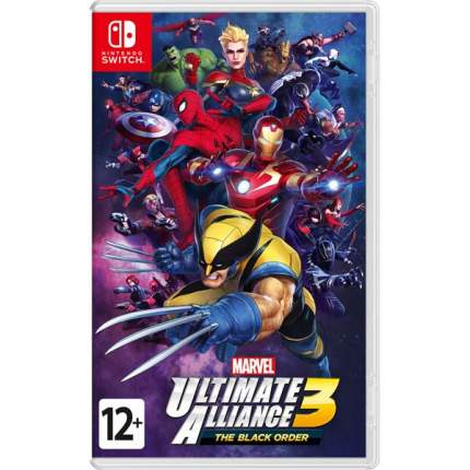 Игра Marvel Ultimate Alliance 3: The Black Order для Nintendo Switch