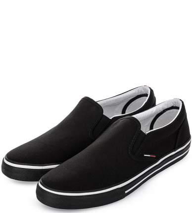 Слипоны мужские Tommy Jeans EM0EM00002 990 black 42 US