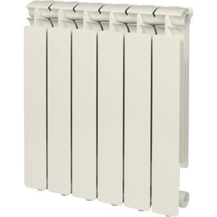 Радиатор алюминиевый Stout SRA-0110-050006 Bravo 500 6