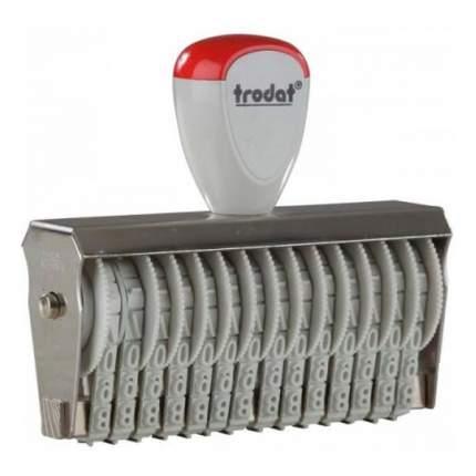 Нумератор ленточный Trodat Classic Line 15514. 14 разрядов. Высота шрифта: 5 мм.