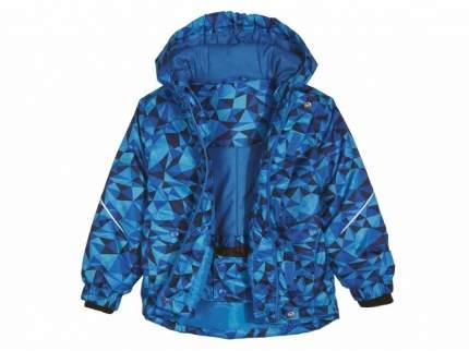 Куртка для мальчика горнолыжная Lupilu голубая р.86-92