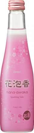 Саке Hana-Awaka sparkling 250 мл