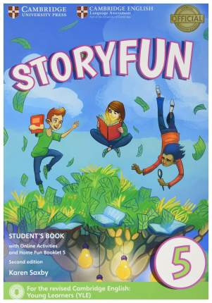 Storyfun 5 Student'S Book With Online Activities And Home Fun Booklet 5