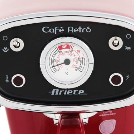 Кофеварка рожкового типа Ariete Retro 1388A Red