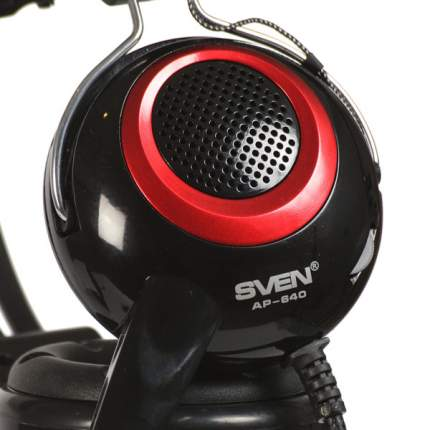 Игровые наушники Sven АР-640 Black/Red