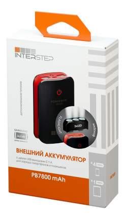 Внешний аккумулятор InterStep PB7800Led 7800 мА/ч (IS-AK-PB7800LED-000B201) Black