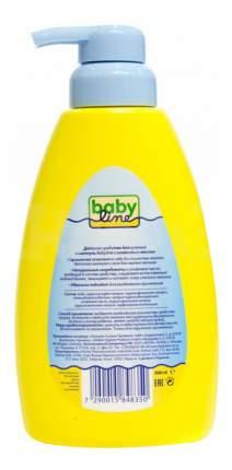 Средство для купания и шампунь babyline, 500 мл