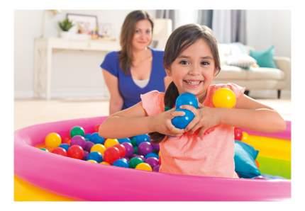 Пластиковые мячи Intex для игровых центров диаметром 6,5 см, 100 шт.