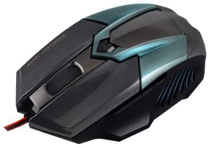 Мышь Crown CMXG-606 синий черный USB