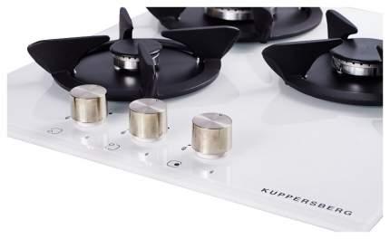 Встраиваемая варочная панель газовая KUPPERSBERG FQ4TG W White