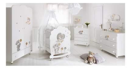 Комод детский Baby Expert Meraviglia белый