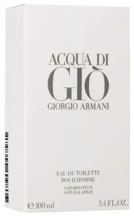 Туалетная вода Giorgio Armani Acqua Di Gio Pour Homme 100 мл