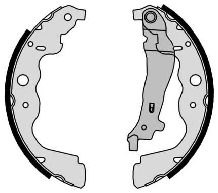 Тормозные колодки барабанные LADA LARGUS, RENAULT LOGAN/SANDERO/DUSTER 4x4 brembo S68546