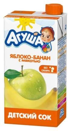Сок Агуша Яблоко и банан с мякотью с 3 лет 500 мл