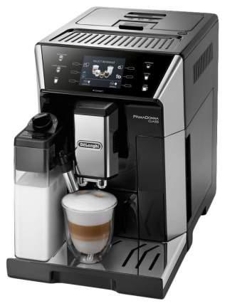Кофемашина автоматическая DeLonghi PrimaDonna Class ECAM550.55.SB Серебристая, черная