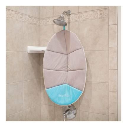 Лежак для купания Baby Delight Snuggle Nest Cushi серо-голубой BD05010