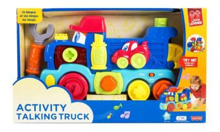 Машинка Передвижной Говорящий Грузовик Happy Kid Toy 4227T